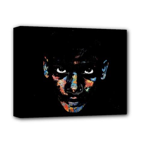 Wild Child  Deluxe Canvas 14  X 11  by Valentinaart