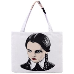 Wednesday Addams Mini Tote Bag by Valentinaart