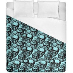 Skulls Pattern  Duvet Cover (california King Size) by Valentinaart
