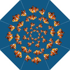 Clown Fish Straight Umbrellas by Valentinaart