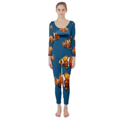 Clown Fish Long Sleeve Catsuit by Valentinaart