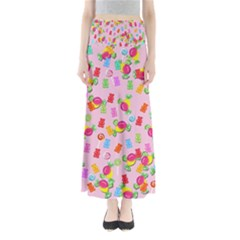 Candy Pattern Maxi Skirts by Valentinaart