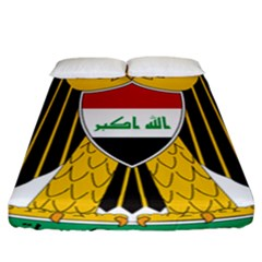 Coat Of Arms Of Iraq  Fitted Sheet (california King Size) by abbeyz71