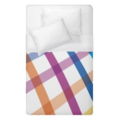 Webbing Line Color Rainbow Duvet Cover (single Size) by Mariart