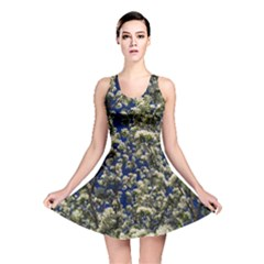 Floral Skies Reversible Skater Dress