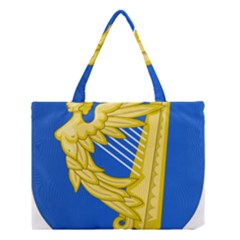 Coat Of Arms Of Ireland, 17th Century To The Foundation Of Irish Free State Medium Tote Bag by abbeyz71