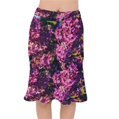 Lilacs Mermaid Skirt by dawnsiegler