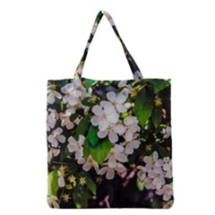 Tree Blossoms Grocery Tote Bag by dawnsiegler