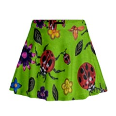 Lucky Ladies Mini Flare Skirt by dawnsiegler