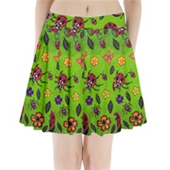 Lucky Ladies Pleated Mini Skirt by dawnsiegler
