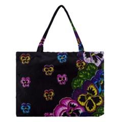 Floral Rhapsody Pt 1 Medium Tote Bag by dawnsiegler