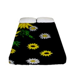 Floral Rhapsody Pt 3 Fitted Sheet (full/ Double Size) by dawnsiegler