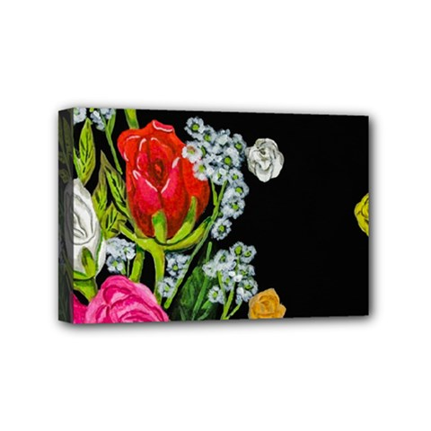 Floral Rhapsody Pt 4 Mini Canvas 6  X 4  by dawnsiegler