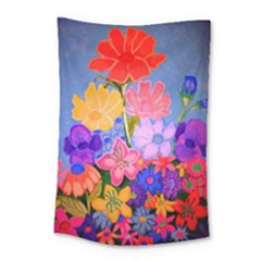 Spring Pastels Small Tapestry by dawnsiegler