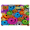 Circle Round Hole Rainbow Apple iPad 3/4 Hardshell Case (Compatible with Smart Cover) View1