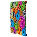 Circle Round Hole Rainbow Apple iPad 3/4 Hardshell Case (Compatible with Smart Cover) View3
