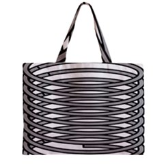 Circular Iron Zipper Mini Tote Bag by Mariart