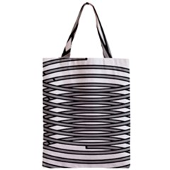 Circular Iron Zipper Classic Tote Bag by Mariart