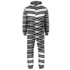Circular Iron Hooded Jumpsuit (men)  by Mariart