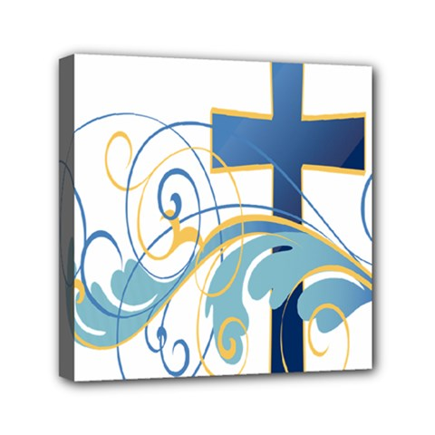 Easter Clip Art Free Religious Mini Canvas 6  X 6  by Mariart