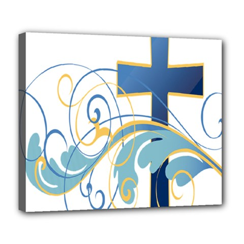 Easter Clip Art Free Religious Deluxe Canvas 24  X 20   by Mariart