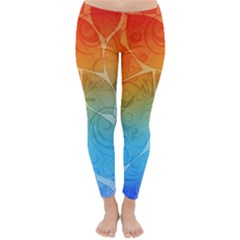 Leaf Color Sam Rainbow Classic Winter Leggings by Mariart