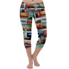 Australiana  Maximum Capri Yoga Leggings by stevendix