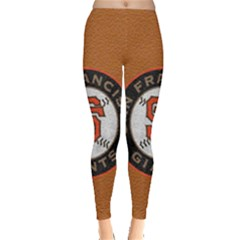 San Francisco 49ers Logo Leggings  by Vayuart
