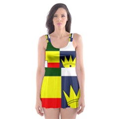 Arms Of Four Provinces Of Ireland  Skater Dress Swimsuit by abbeyz71