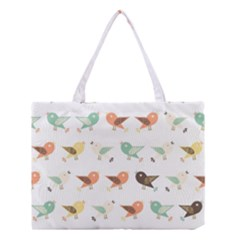 Assorted Birds Pattern Medium Tote Bag by linceazul