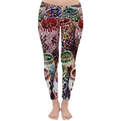 Colorful Oriental Candle Holders For Sale On Local Market Classic Winter Leggings by Vayuart