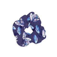 Mystic Crystals Witchy Vibes  Velvet Scrunchie by BubbSnugg