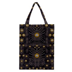 Lace Of Pearls In The Earth Galaxy Pop Art Classic Tote Bag by pepitasart