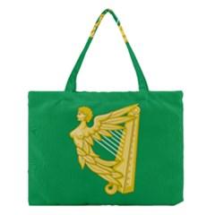 The Green Harp Flag Of Ireland (1642 1916) Medium Tote Bag by abbeyz71
