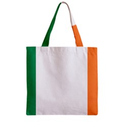 Flag Of Ireland  Zipper Grocery Tote Bag by abbeyz71