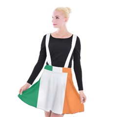 Flag Of Ireland  Suspender Skater Skirt by abbeyz71