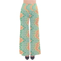 Emerald And Salmon Pattern Pants by linceazul