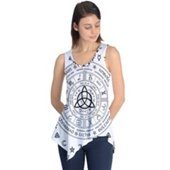 Witchcraft Symbols  Sleeveless Tunic by Valentinaart