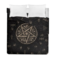 Witchcraft Symbols  Duvet Cover Double Side (full/ Double Size) by Valentinaart