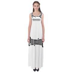 Illuminati Empire Waist Maxi Dress by Valentinaart