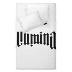 Illuminati Duvet Cover Double Side (single Size) by Valentinaart