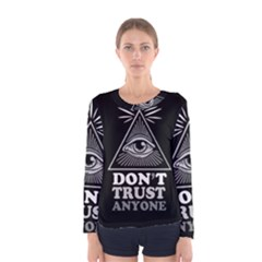 Illuminati Women s Long Sleeve Tee by Valentinaart