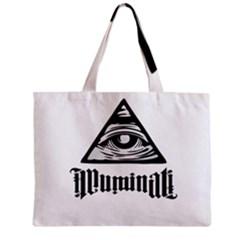 Illuminati Zipper Mini Tote Bag by Valentinaart