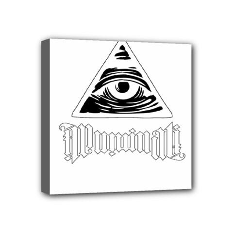 Illuminati Mini Canvas 4  X 4  by Valentinaart