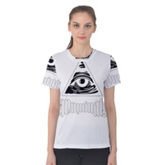 Illuminati Women s Cotton Tee by Valentinaart