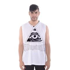 Illuminati Men s Basketball Tank Top by Valentinaart