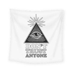 Illuminati Square Tapestry (small) by Valentinaart