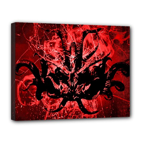Scary Background Canvas 14  X 11  by dflcprints