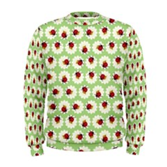 Ladybugs Pattern Men s Sweatshirt by linceazul