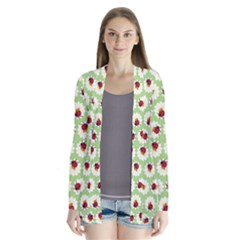Ladybugs Pattern Cardigans by linceazul
